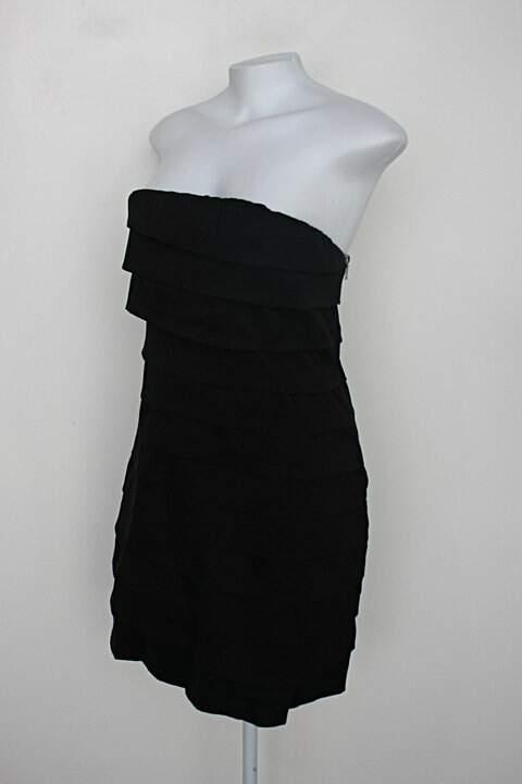 Vestido de Festa bella chique feminino preto_foto de costas