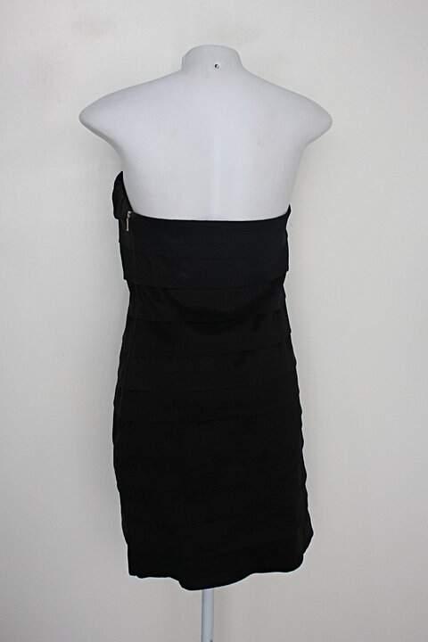 Vestido de Festa bella chique feminino preto_foto de detalhe