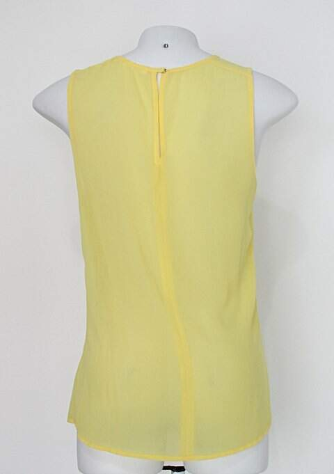 Regata tvz feminina amarela_foto de costas