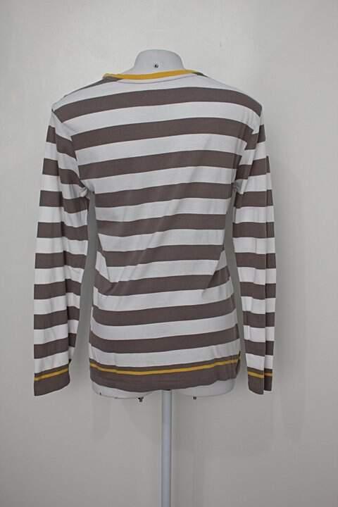 Camiseta listras 7 For all mankind_foto de costas