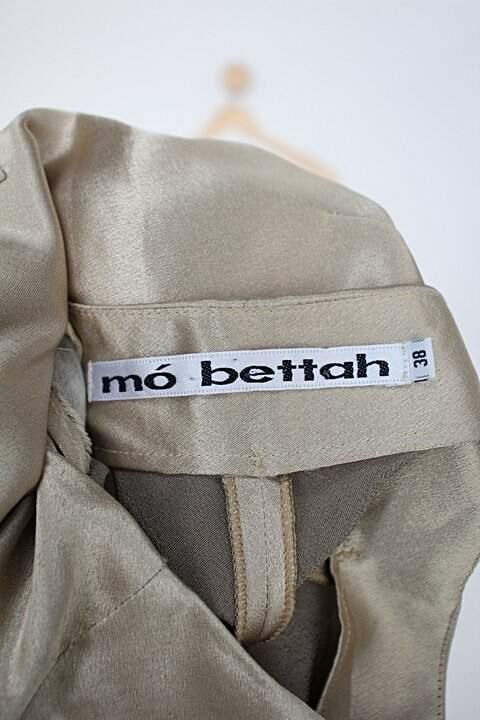 Calça de cetim mó bettah feminina dourada_foto de detalhe
