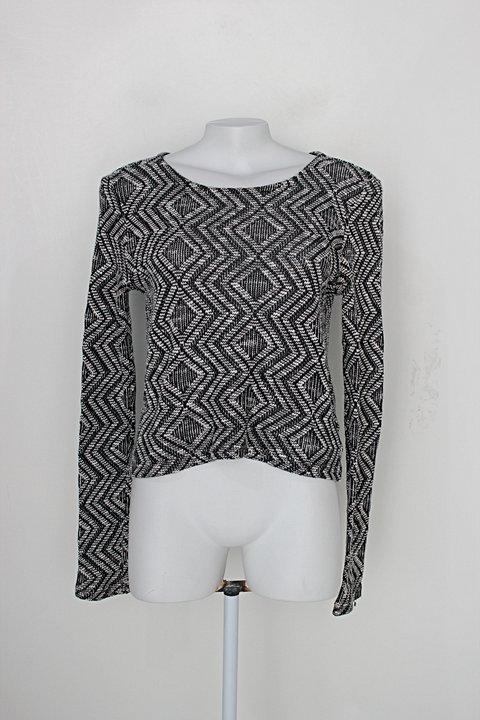 Blusa tricot youcom feminina cinza_foto principal