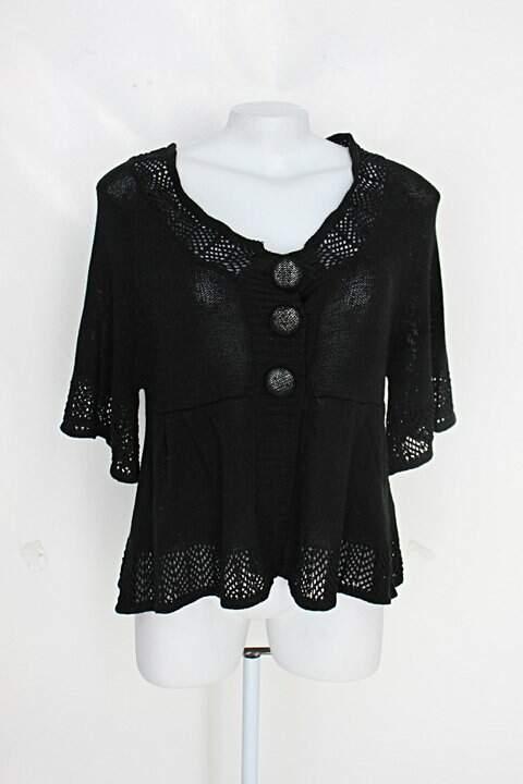 Blusa tricot miroa feminina preto_foto principal