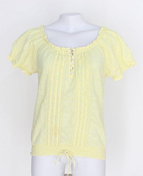 Blusa esotérica feminina amarela_foto principal