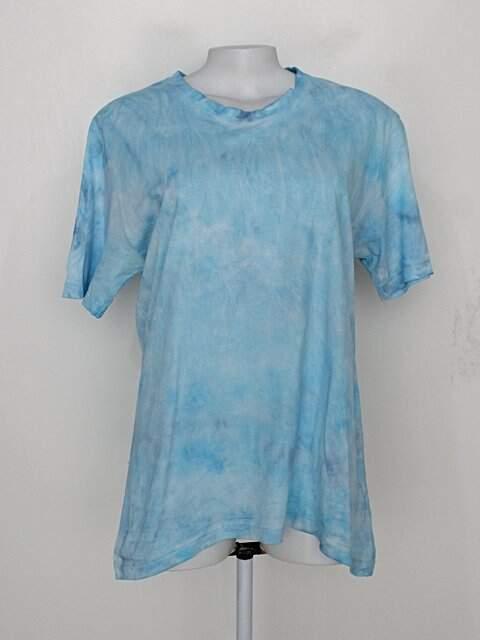 Camiseta tie dye azul manga curta_foto principal
