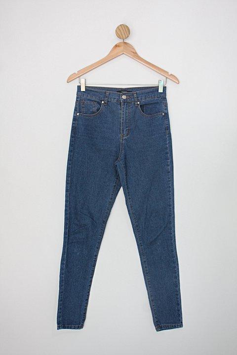 Calça Jeans forever 21 feminina azul_foto principal