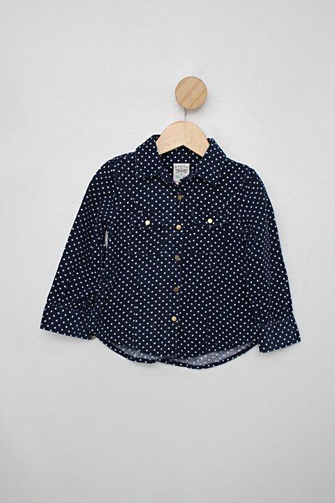 Camisa Infantil cea azul com poás_foto principal