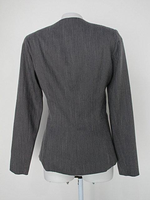 Blazer tvz feminino cinza_foto de costas