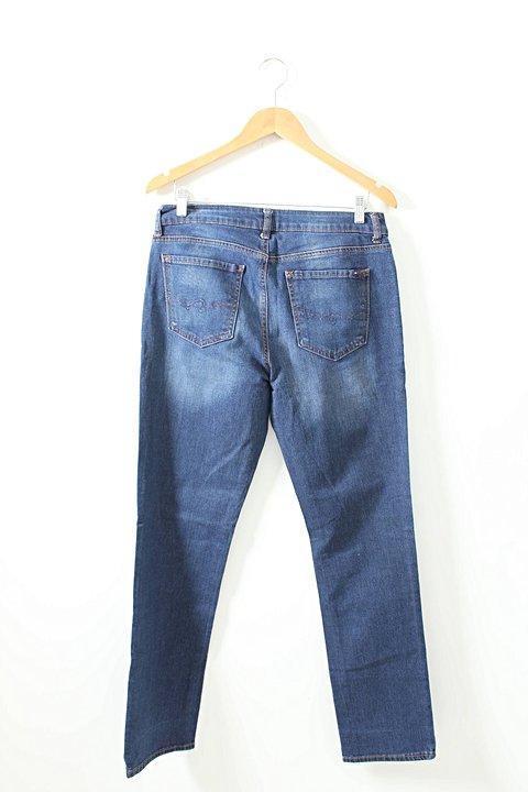 Calça Jeans Tommy Hilfiger Azul _foto de frente