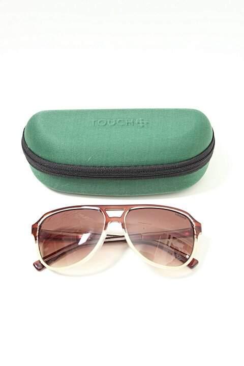 Óculos de Sol Aviador Redondo Touch_foto principal