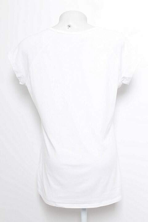 Camiseta Branca Domyos_foto de frente