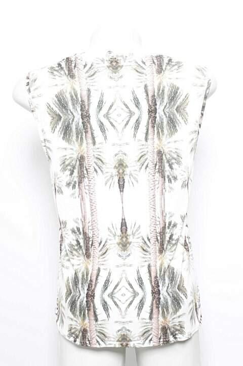 Blusa Estampada Curta Dress To_foto de frente