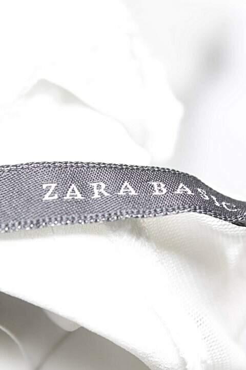 Regata Crepe Branca Zara_foto de costas
