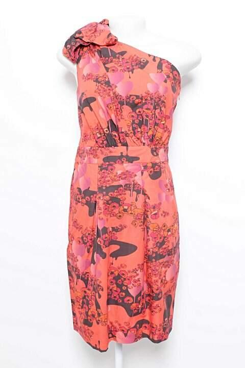 Vestido Curto Ombro só Estampado Maria bonita_foto principal
