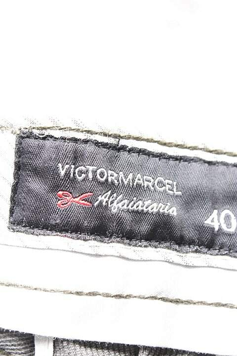 Calça De Alfaiataria Cinza Victor Marcel_foto de costas