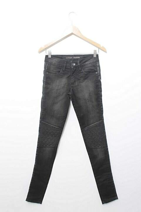 Calça Jeans Skinny Preta Espaço Fashion_foto principal