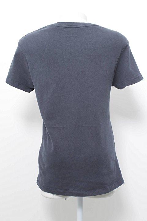 Blusa Básica Azul Renner_foto de frente