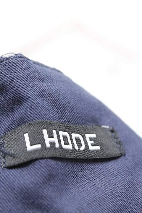 Calça Azul Marinho Lhode_foto de costas