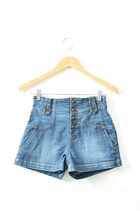 Mini Shorts Azul Opção_foto principal