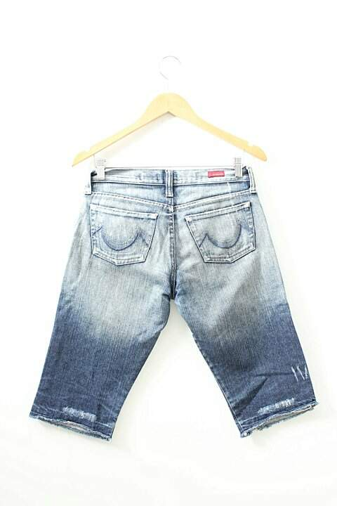 Bermuda Jeans Estonado M. Officer_foto de frente
