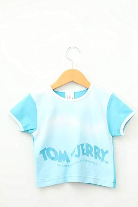 Camiseta Azul Tom & Jerry_foto principal