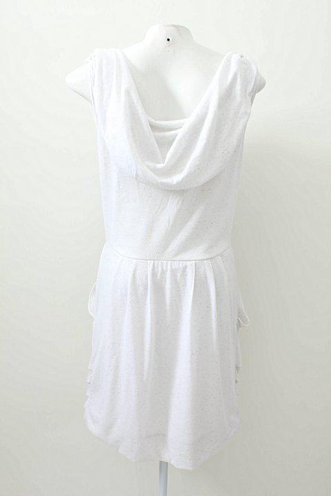 Vestido Branco Curto _foto de frente