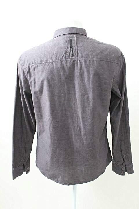 2bb773408ed96 Camisa Social Cinza Calvin Klein - compre por menos