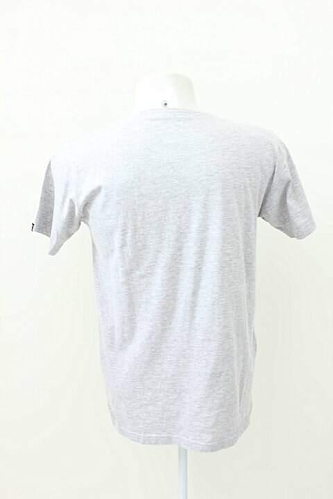 Camiseta Lust For Life Cinza Mescla Estampada _foto de frente