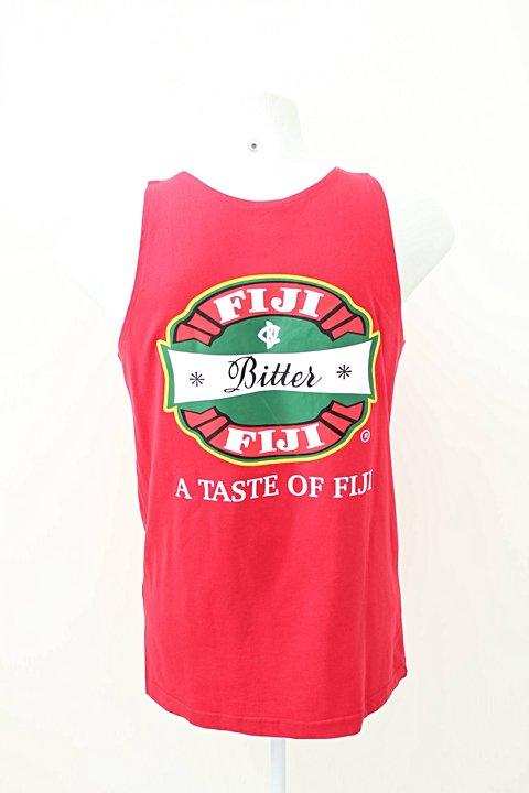 Camiseta Regata Jacks's Of Fiji Vermelha _foto de frente