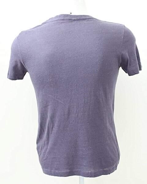 Camiseta Colcci Roxa Botões _foto de frente
