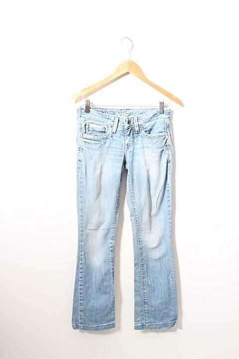 Calça Jeans Calvin Klein Azul Claro - compre por menos  900c9f4894a