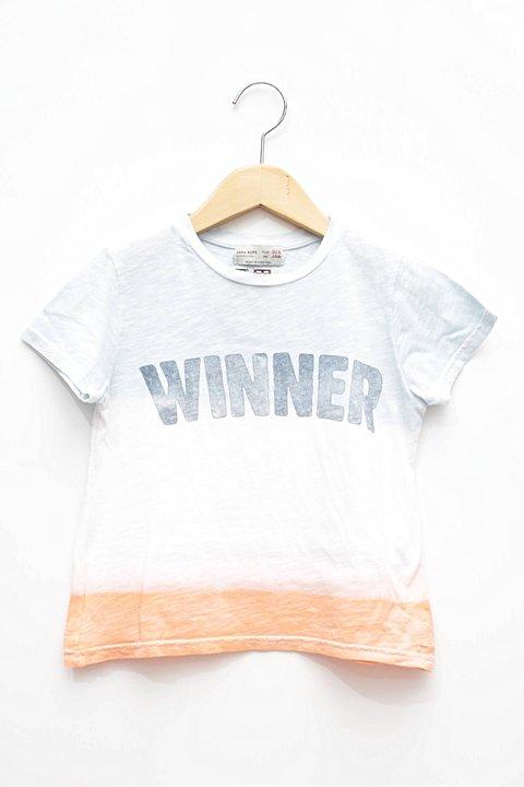 Camiseta Colorida Degradê Zara_foto principal