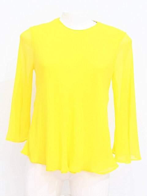 15517af384 Blusa Amarelo Neon Zara - compre por menos
