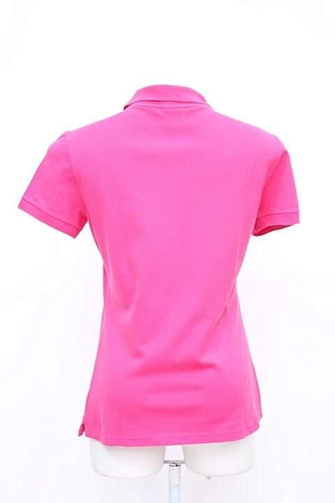 143b0199b5f Polo Feminina Rosa Lacoste - compre por menos