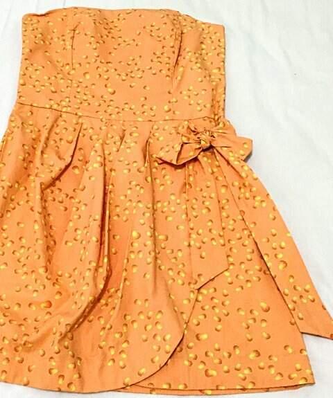Vestido Tomara Que Caia Laranja_foto principal