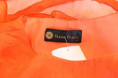 Vestido Aurea Prates Coral - TAM M._foto de detalhe