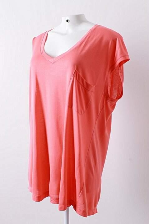 Camiseta de Malha Coral - TAM 38_foto de detalhe