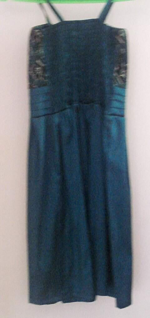 Vestido de Festa Azul Escuro_