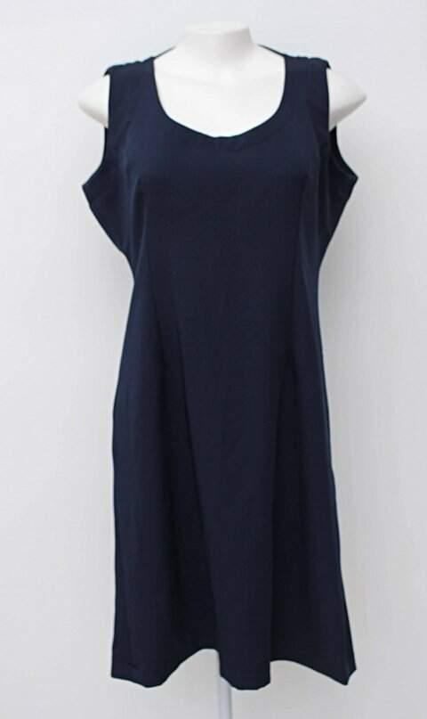 Vestido tubinho azul marinho_foto principal