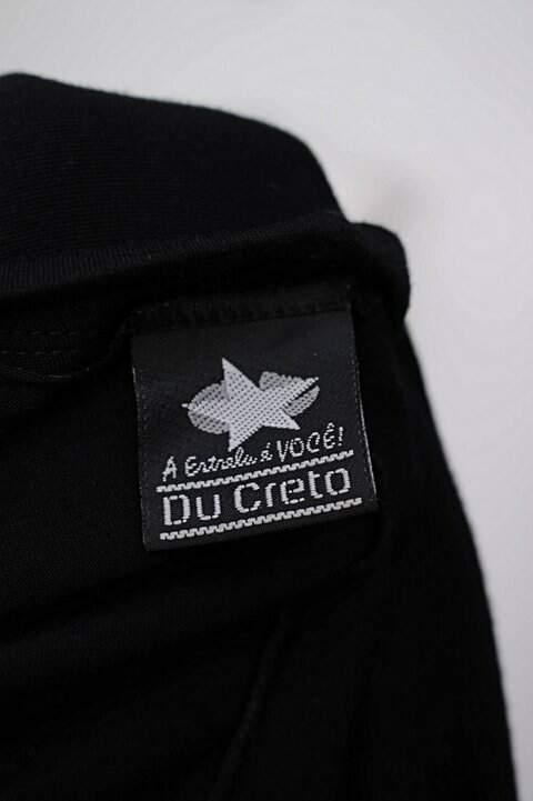 Blusa preta estampada Du Creto_foto de detalhe