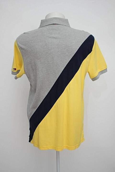 camisa Polo tricolor tommy hilfiger_foto de costas