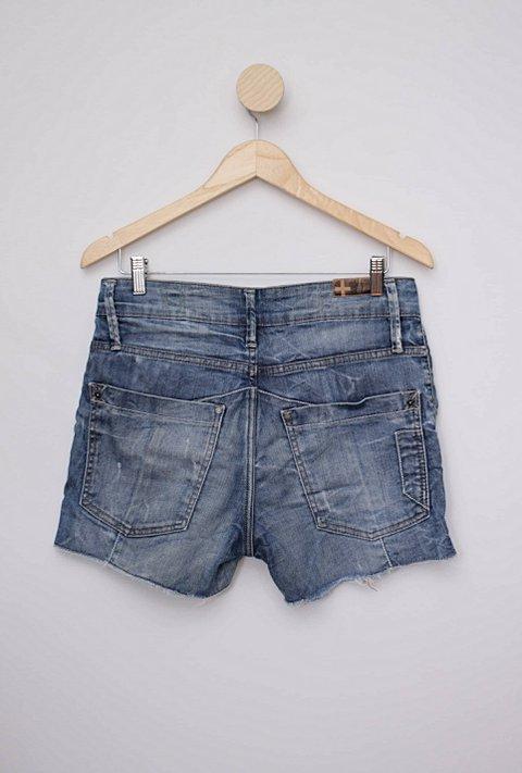 Shorts jeans azul animale_foto de costas