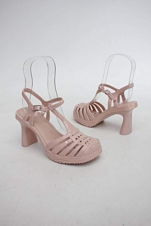 Sandália rosa melissa_foto de costas