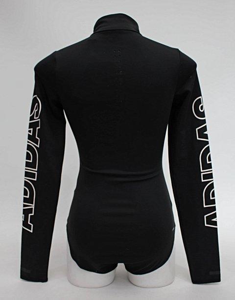 Body preto adidas_foto de costas