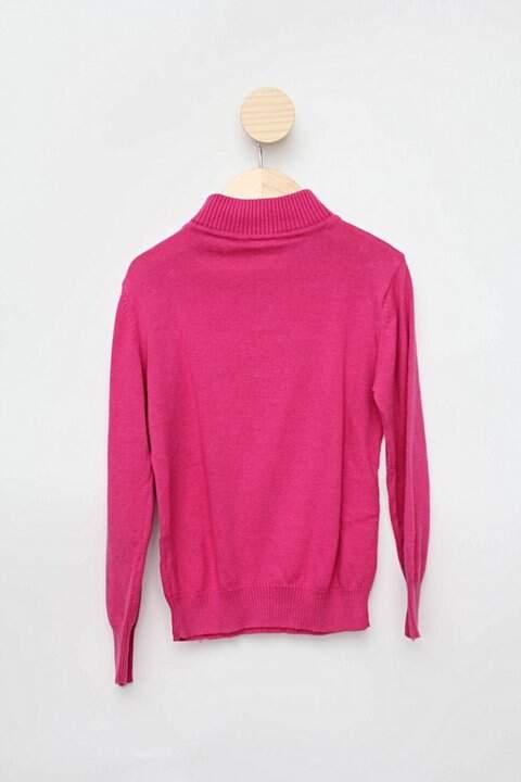 Suéter rosa renner_foto de costas