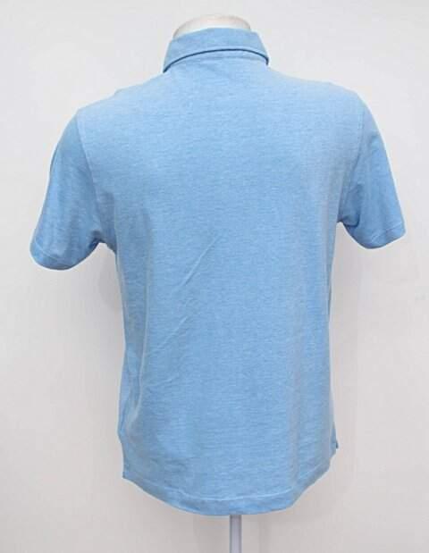 camisa Polo azul richards_foto de costas