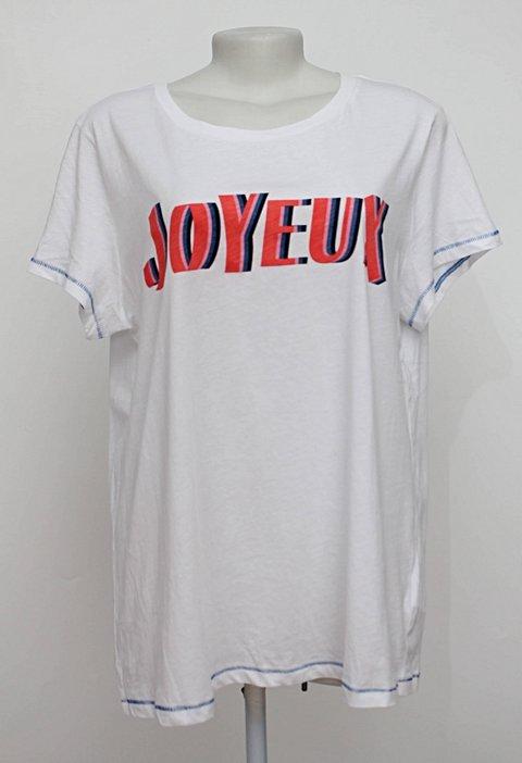 Camiseta branca estampada h&m_foto principal