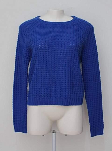 Suéter azul bic forever 21_foto principal