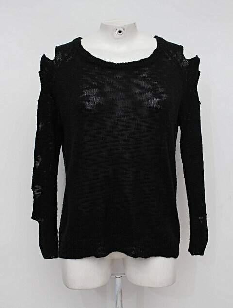 blusa de Malha preta talita kume_foto principal