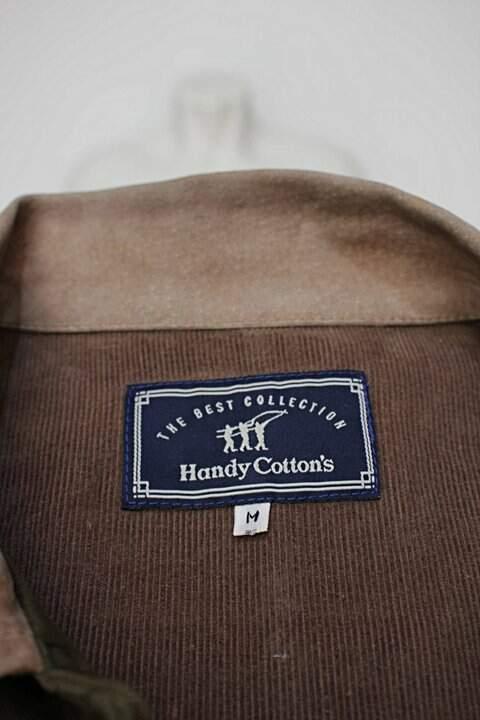 Casaco verde handy cotton's_foto de detalhe